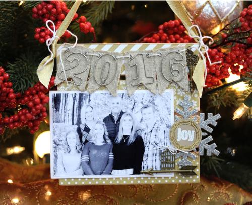 Jana Eubank Maya Road 2016 Family Christmas Ornament 2