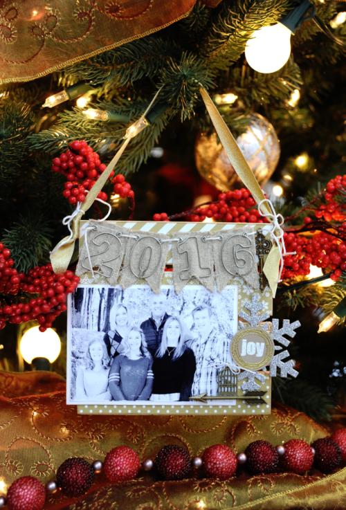 Jana Eubank Maya Road 2016 Family Christmas Ornament 4