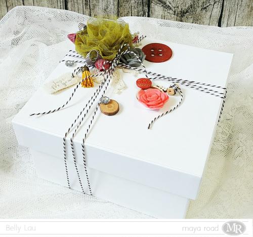 Handmade Gift Box - Maya Road - Belly Lau - Papercraft Buffet - Jan2017 - Photo 1