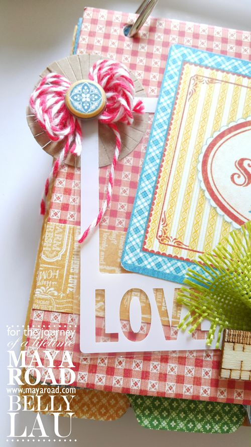 Sweet Home Recipe Album - Maya Road - Belly Lau - Design Team - 5 of 5