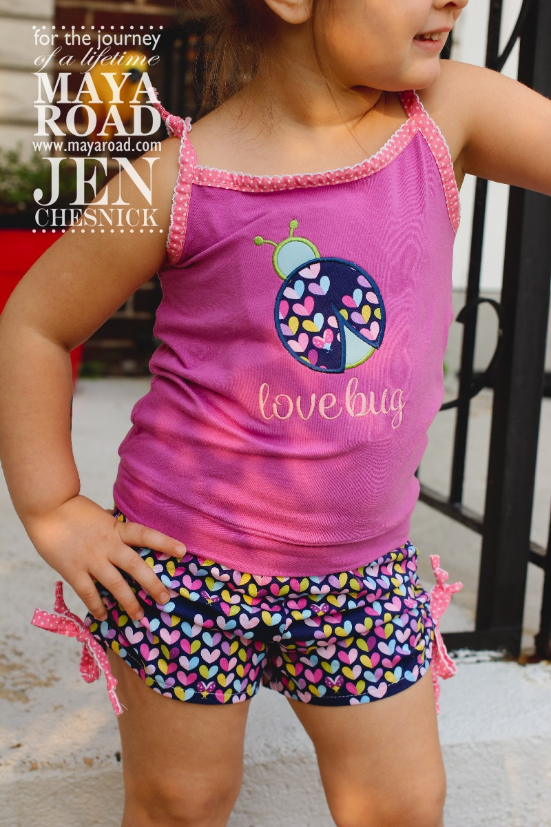 Jen Chesnick- Maya Road- Too Cute Shorts4
