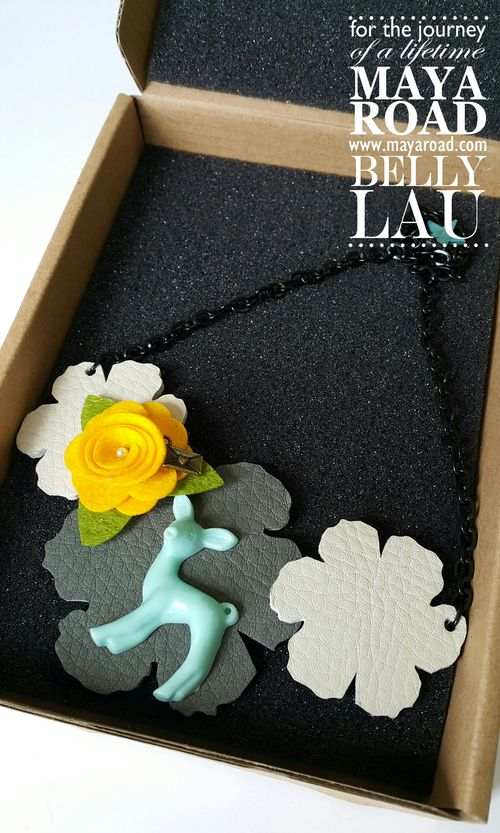 Oh Deer Leather Necklace - Maya Road - Belly Lau - Accessories - 7 of 7