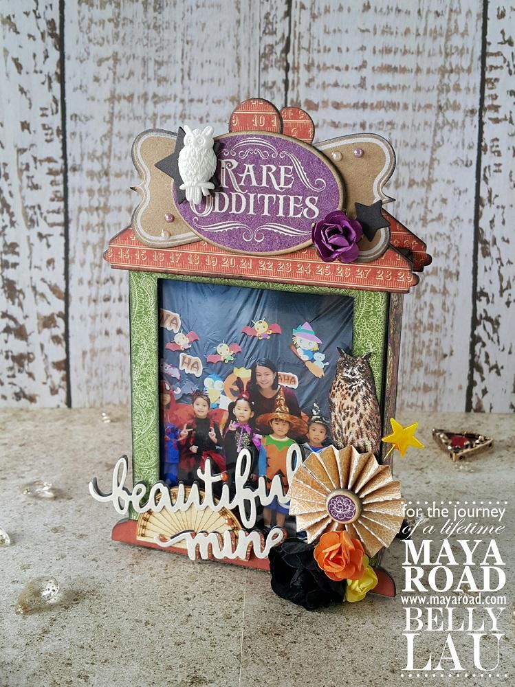 Halloween Photo Display Box - Maya Road - Belly Lau - 1