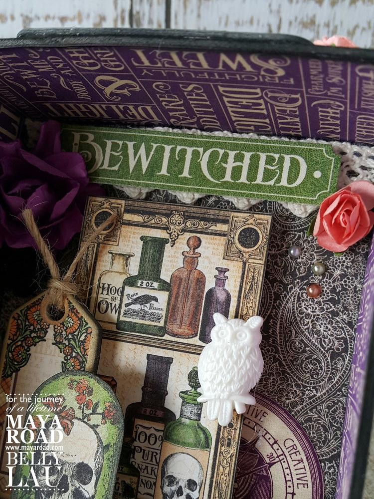 Halloween Photo Display Box - Maya Road - Belly Lau - 7