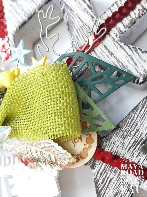 Snowflake Shine - Maya Road - Belly Lau - Design Team - 2