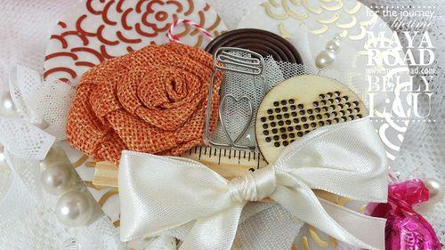 Love Pinata Mini Album - Maya Road - Belly Lau - Papercraft Buffet - Tutorial - Photo 6