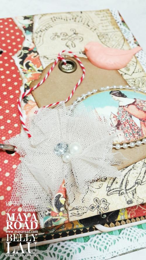 Fairy mini album stand - Maya Road - Belly Lau - Papercraft Buffet - Photo 3