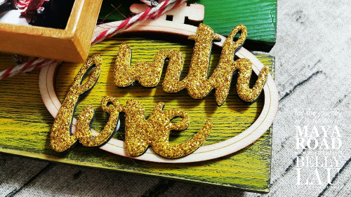 With Love Pallet Photo Display - Maya Road - Belly Lau - Papercraft Buffet - Photo 2