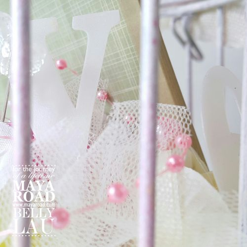 Altered Bird Cage Mini Album - Belly Lau - Maya Road - 7