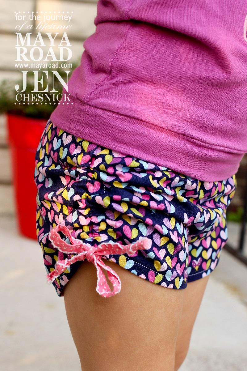 Jen Chesnick- Maya Road- Too Cute Shorts2