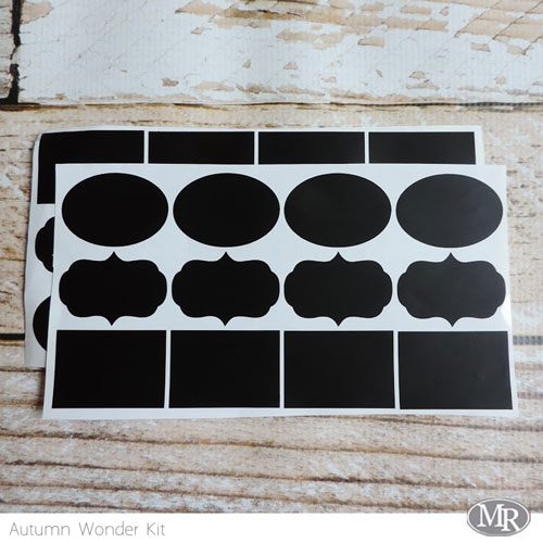 Chalkboard-stitckers