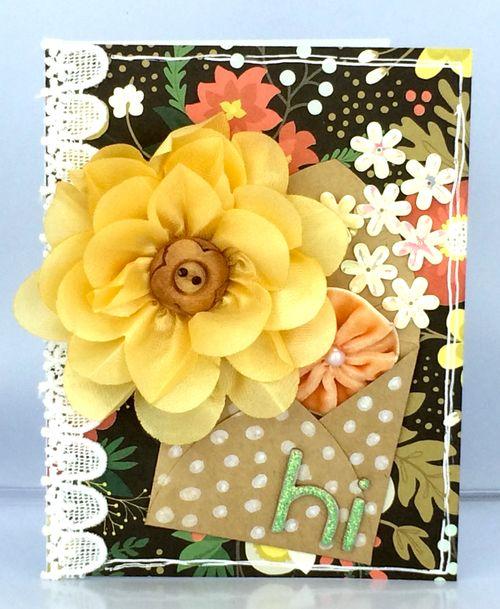 Beth floral bouquet