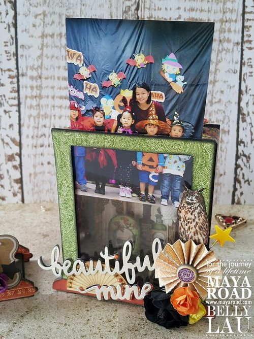 Halloween Photo Display Box - Maya Road - Belly Lau - 11