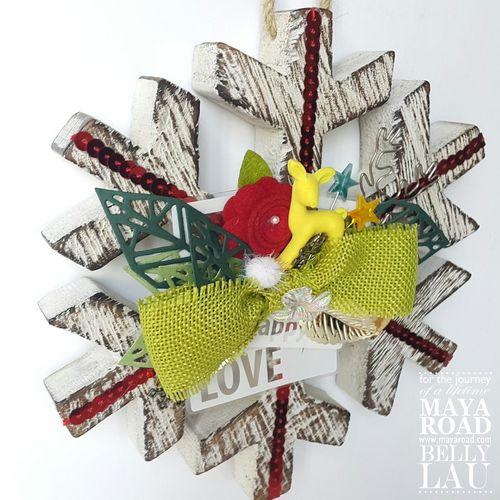 Snowflake Shine - Maya Road - Belly Lau - Design Team - 7