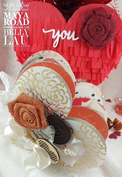 Love Pinata Mini Album - Maya Road - Belly Lau - Papercraft Buffet - Tutorial - Photo 5