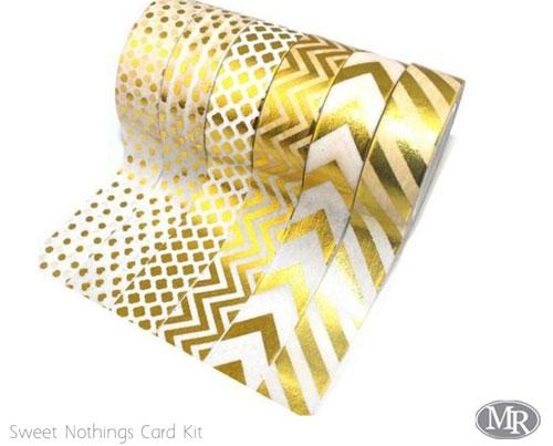 Gold-washi