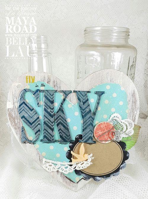 Love Everything Beautiful Mini Album - Maya Road - Album Kit - Belly Lau -Tutorial - Photo 5