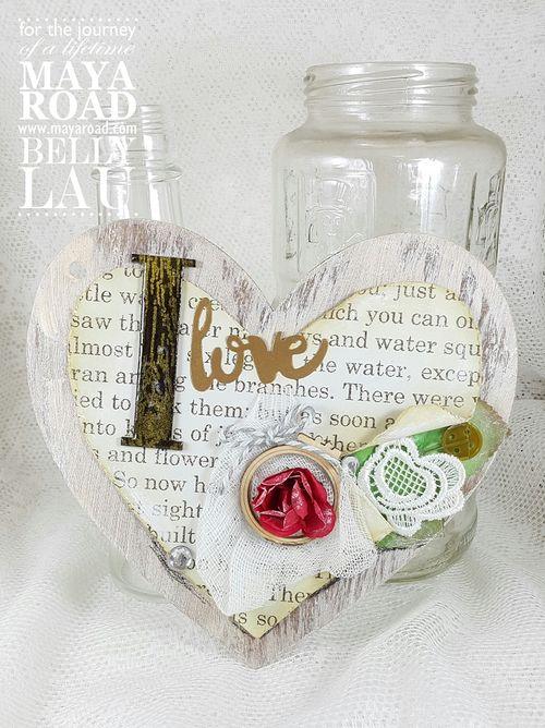 Love Everything Beautiful Mini Album - Maya Road - Album Kit - Belly Lau -Tutorial - Photo 13