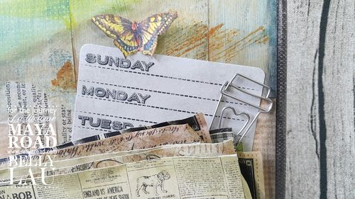 The Daily Grind - Mixed Media Canvas - Maya Road - Belly Lau - Papercraft Buffet - Photo 7