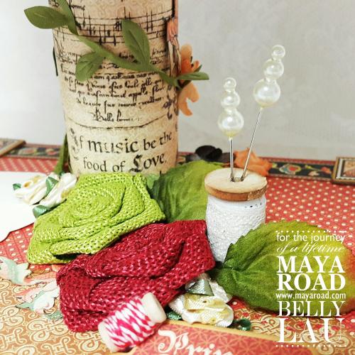 Fairy mini album stand - Maya Road - Belly Lau - Papercraft Buffet - Photo 2