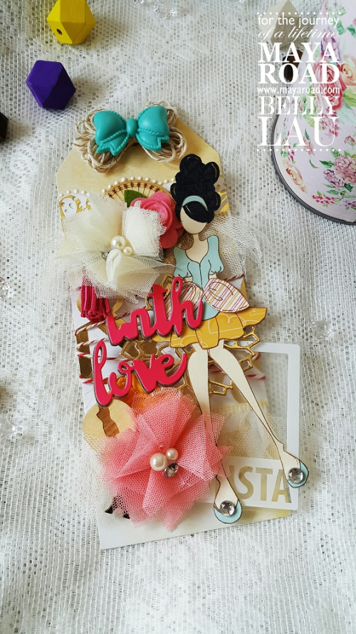 With Love Tag - Maya Road - Belly Lau - Papercraft Buffet - Photo 1  (1)
