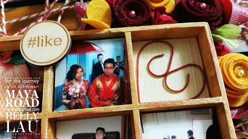 With Love Pallet Photo Display - Maya Road - Belly Lau - Papercraft Buffet - Photo 5