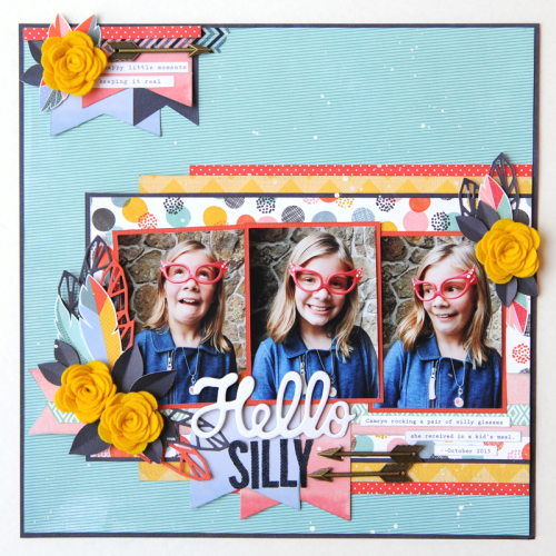 Jana Eubank Maya Road Hello Silly Layout 1