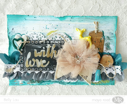 With Love Card - Maya Road - Belly Lau - Photo 1
