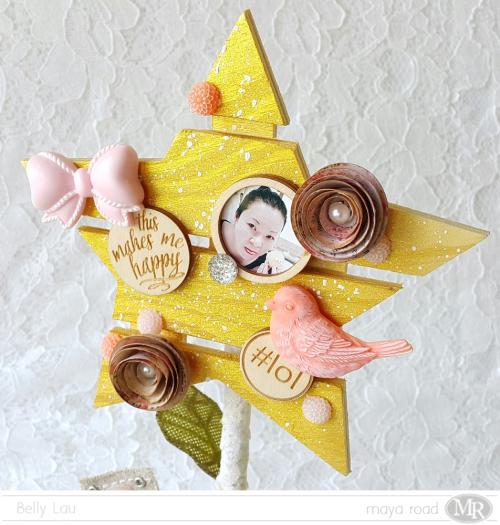 I am a star - pallet display - Maya Road - Belly Lau - Photo 3