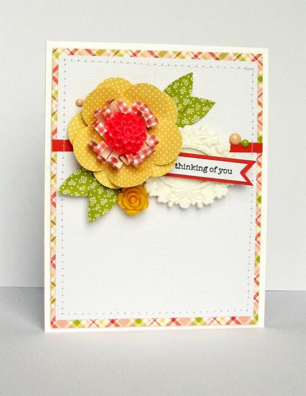 Nicole flower card
